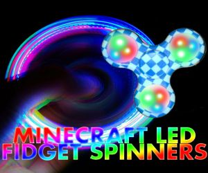 Minecraft LED Fidget Spinner