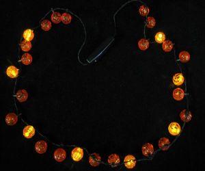 Light up Pumpkin Necklaces