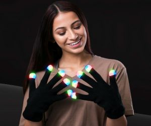 Light up Gloves (Black)