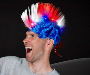 Light Up Mohawk Hat