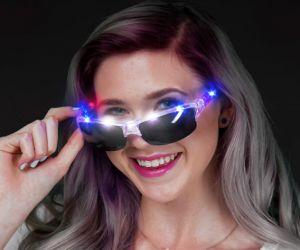 Light Up Sport Glasses (R/W/B)