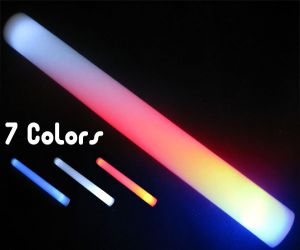 Light up Patriotic Foam Wand