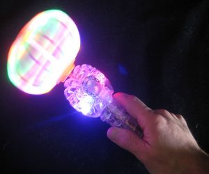 Light up Carousel Spinning Wand
