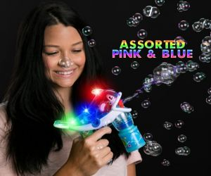 Fish Flashing Bubble Gun