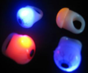 Flashing Eye Ball Rings