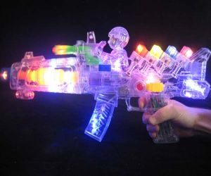 Flashing Toy Gun