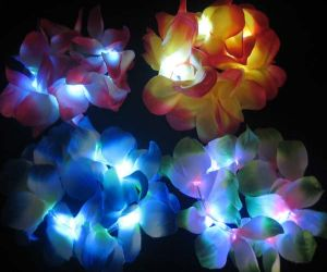 Flashing Hawaiian Lei Bracelets