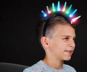 Light up spike Mohawk