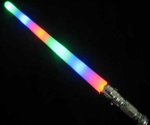 Flashing Rainbow Light Saber Sword
