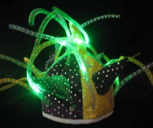 Flashing Mardi Gras Jesters Hat