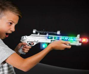 Flashing AK47 Gun