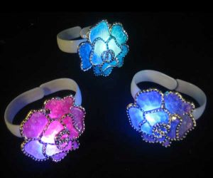 Light up Flower Bracelet