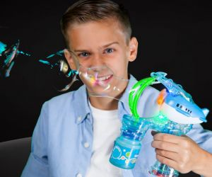 Flashing Character Bubble Gun