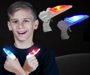 Flashing Mini Blaster Gun /w Sound