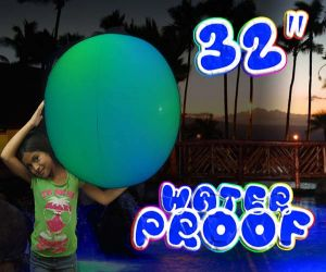 Light up Inflatable Beach Ball (32 in)