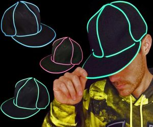 EL Wire Hats