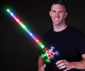 Light up Skull Hat Sword