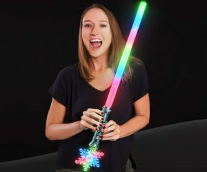Light up Snowflake Sword