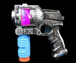 LED Shotgun Bubble Gun