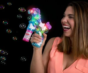Flashing Horse Bubble Gun