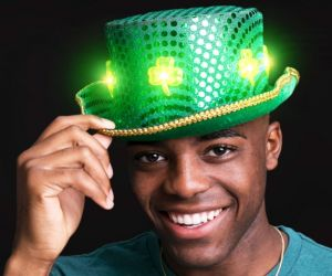 LED Clover Fedora Hat