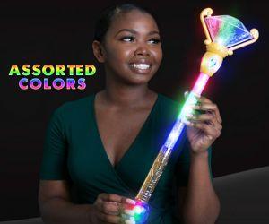 LED Magical scepter princess wand