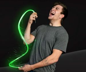 LED Fiber Optic Whip