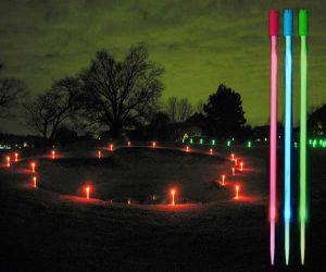 LED Yardage Markers