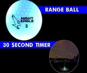 30 Second LED Range Golf Ball - Blue