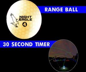 30 Second LED Range Golf Ball - White