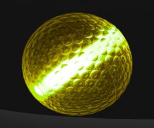 Yellow Pro Glow Night Golf Balls