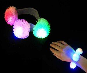 LED Urchin Ball Bracelet