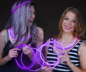 Glow Necklaces Purple (50/pcs)