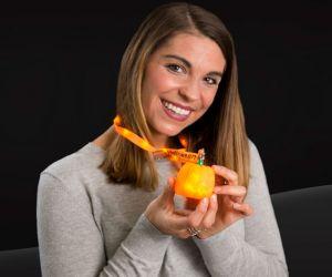 Flashing Pumpkin Lanyard Necklaces