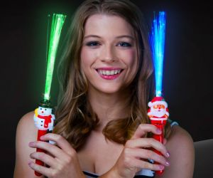 Christmas Fiber Optic Wand Assortment