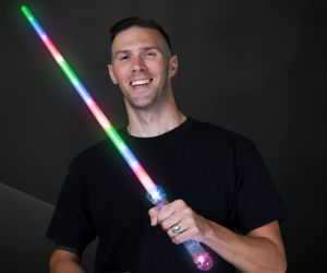 Light Saber Sword R/B/G