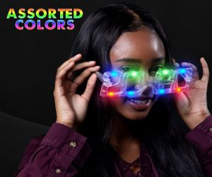 2020 LED Flashing Eye Glasses