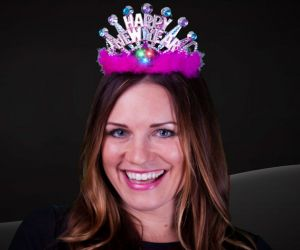 Flashing New Years Eve Tiara