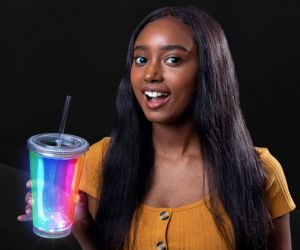 Blinky Tumbler Cup