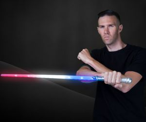 LED Patriotic Space Sword