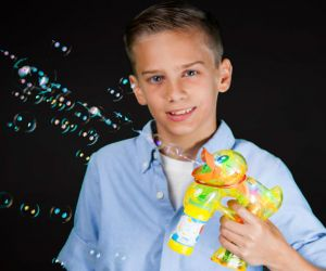 Flashing Duck Bubble Gun