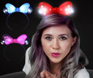 Flashing Mickey Headband