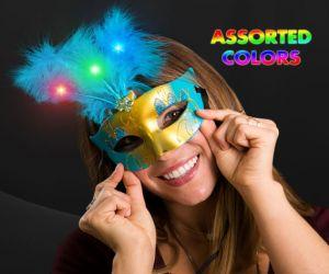 LED Mardi Gras Masquerade Mask