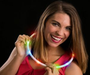 LED Chasing Necklace