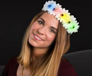 LED Flower Headband