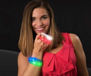 Silicone Motion Activated LED Bracelet