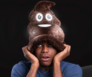 LED Poop Swirl Hat
