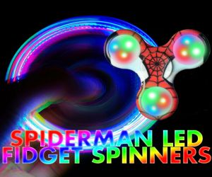 Spiderman LED Fidget Spinner