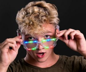 LED Pixel Sun Glasses