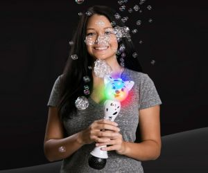 Light up Dog Bubble Wand